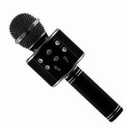 New karaoke microphone