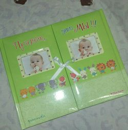 New photo album for twins