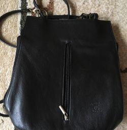 Rucsac / geantă pentru o fată (piele. Italia)