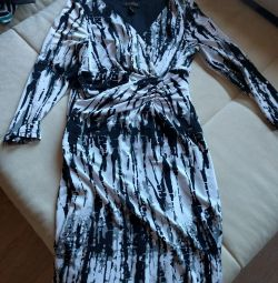 Dress with long sleeves XS-S