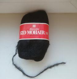 Yarn. 100% wool. Mohair.