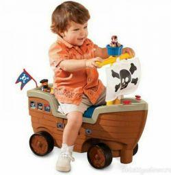Scaunul cu rotile pentru navele Little tikes in ots