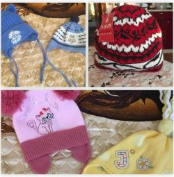 Hats for children (for a boy and a girl)