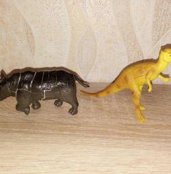 3-D Puzzle Dinozaur Rinocerii