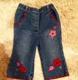 Jeans for the girl 80r-r