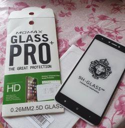 Redmi not 4x 5D HD'de güvenlik camı