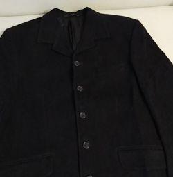 Jacket man's black r 50 - 52