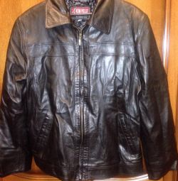 New Men's 100% Leather Jacket