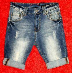 Бриджи джинсовые Philipp Plein новые Турция
