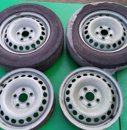 Wheels set VW transporter T5 T6