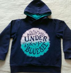 Sweatshirt, children's t-shirt on a boy