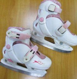 Skates sliding