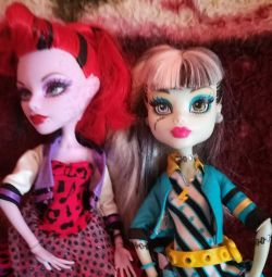 Monster Dolls HAY. PRICE FOR BOTH