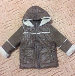 Βαμβακερό σακάκι με πανωφόρι Orby