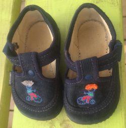 Textile sandals 19 r
