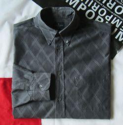 Рубашка сорочка Trussardi Jeans Италия оригинал