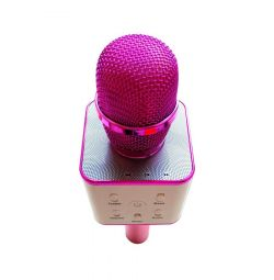 Karaoke microphone Q7U speaker golden