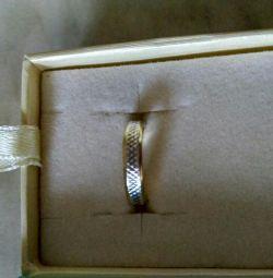 Кольцо серебро размер 15,5-16