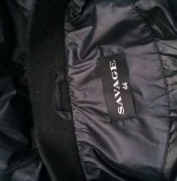 Cool long coat. NEW. Savash.