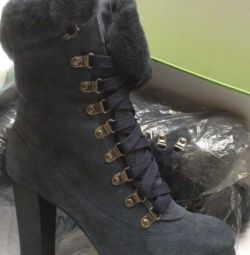 Boots female winter natures skin fur r 38 new