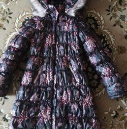 Куртка пальто,зима 140 размер