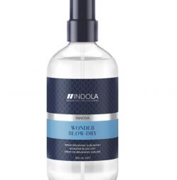 Indola Express Spray for fast hair drying.
