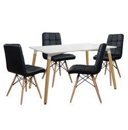 SET TABLES 5T TABLE MINIMAL 120X80-ROSA MAVR