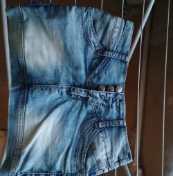 Denim skirt, 26 size