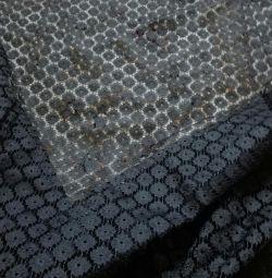 Elbise kumaşı Gipür