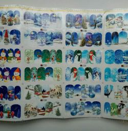 Nail stickers New Year