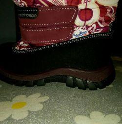Noile cizme de iarna pentru copii