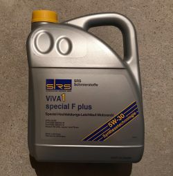 SRS ViVA 1 special F plus 5W-30 5L engine oil