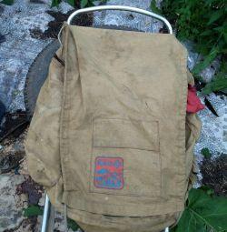 Backpack on the frame ermak