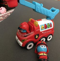 Πυροσβεστικό όχημα Imaginarium + ειδώλιο πυροσβέστης