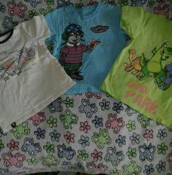 T-shirts suitable for kindergarten 104 pp