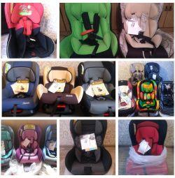 Beautiful new car seats 0-18