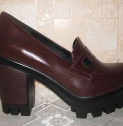 Туфли цвета