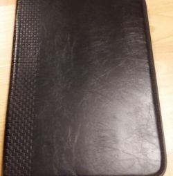 black paper folder
