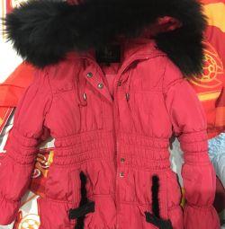 Palton de iarnă pentru fată