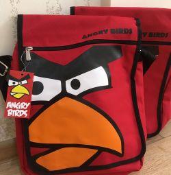 Bag păsări supărat