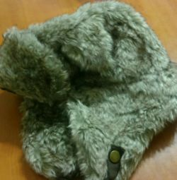Hat with earflaps H&M