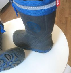 Rubber boots with insulation. (Relma)