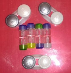 Contact Lens Containers (New)