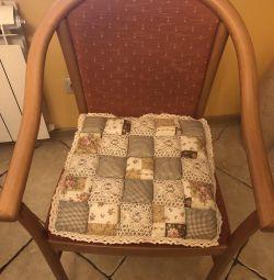 Сидушки на стільці бавовна нові