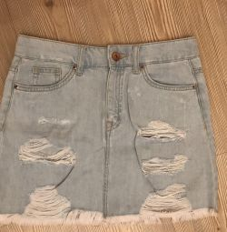 Denim skirt H & M