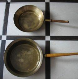 Reçel pişirmek için eski havzalar