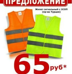 Signal vests S20P grid
