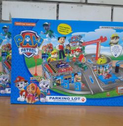 Paw Patrol Parking