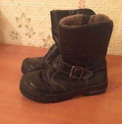 Winter boots Kotofey p31 leather tsigika