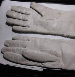 Soluție de mănuși demi-sezon alb 7.5